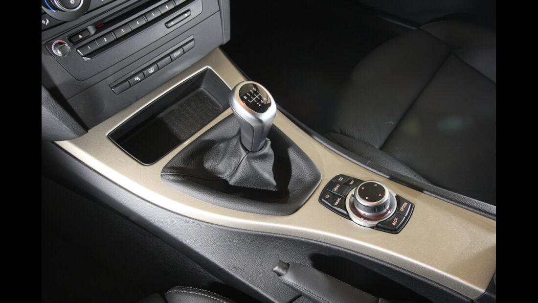 BMW 320d, Mittelkonsole