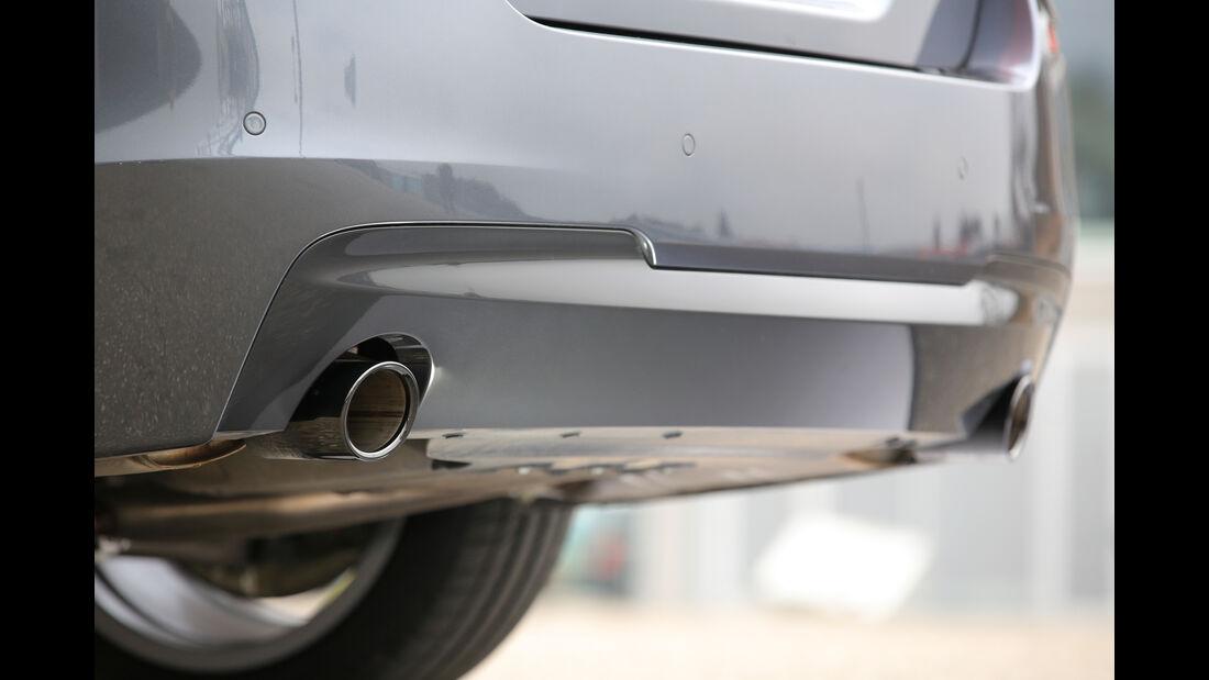 BMW 535d, Auspuff, Endrohre