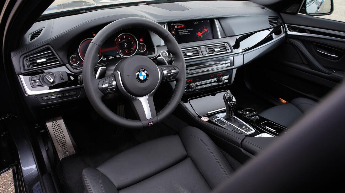 BMW 535d, Cockpit