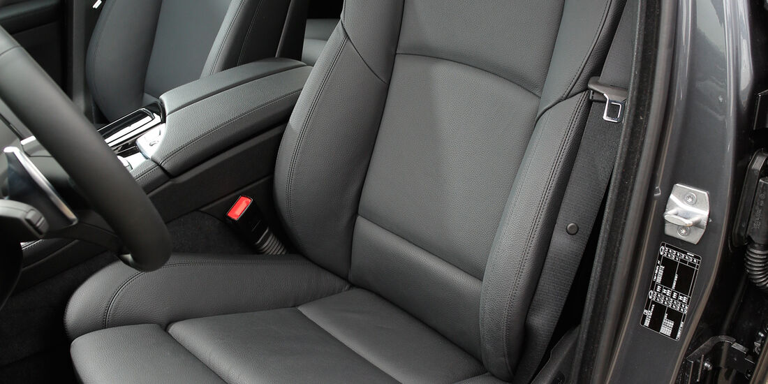 BMW 535d, Fahrersitz
