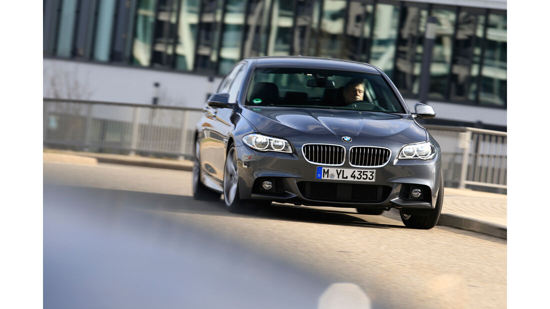 BMW 535d, Frontansicht