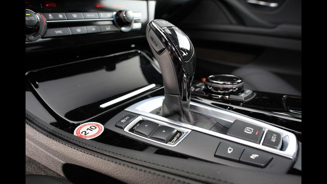 BMW 535d, Schaltung