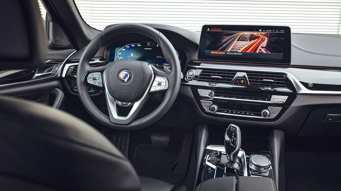 BMW Alpina D5 S, Interieur