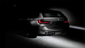 BMW M3 Touring Heck Teaser BMW