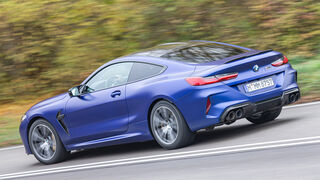 BMW M8 Competition Test ams