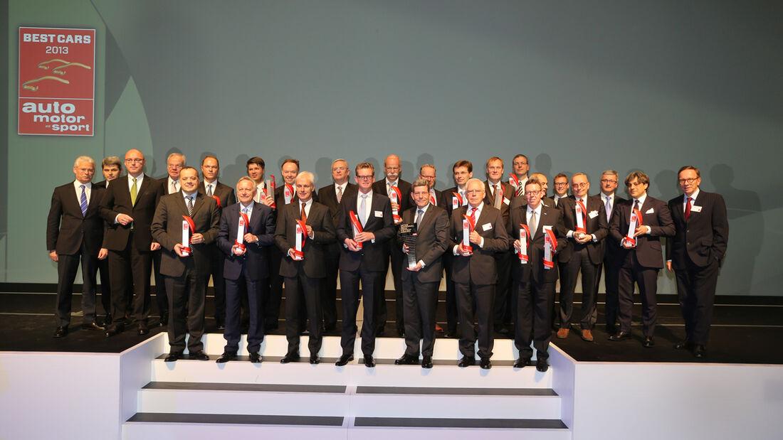 Beste Autos 2013 Gala