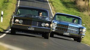 Cadillac 62 und Lincoln Continental