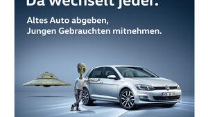 """?Da wechselt jeder"""" ? Volkswagen startet neue Gebrauchtwagen-Kampagne in Deutschland"""