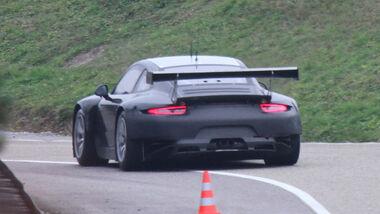 Erlkönig Porsche 911 GT3 Rennversion
