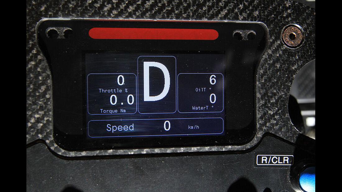 Fahrbericht, Citroen Survolt Cockpit