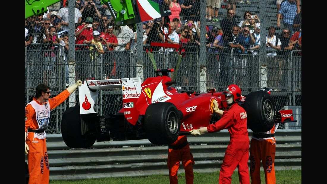 Fernando Alonso - Formel 1 - GP Italien - 07. September 2012