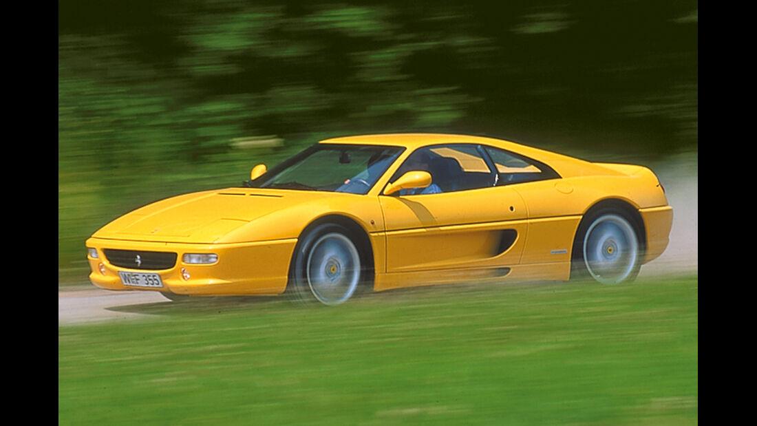 Ferrari F355, Seitenansicht
