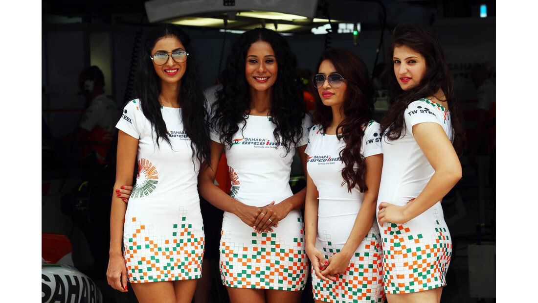 Girls - Formel 1 - GP Indien - 27. Oktober 2013