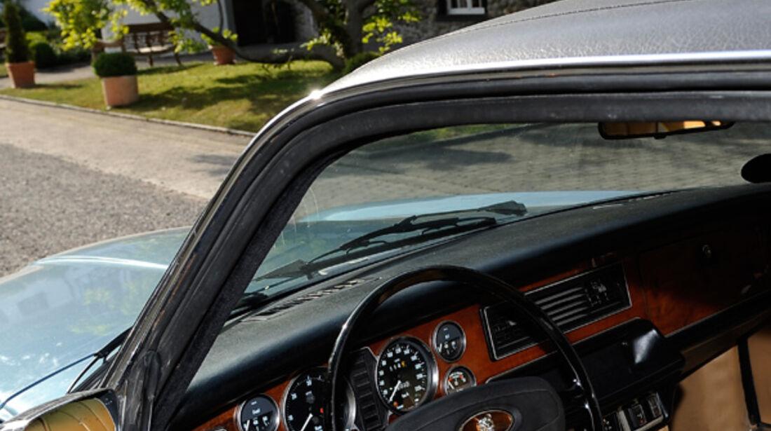 Jaguar XJ 6, Cockpit, Fahrerseite
