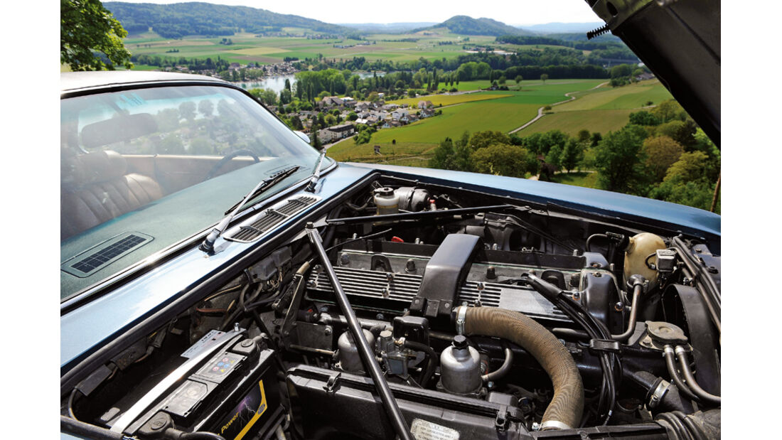 Jaguar XJ 6, Motor