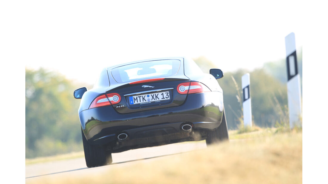 Jaguar XK 5.0 V8 Portfolio, Heck