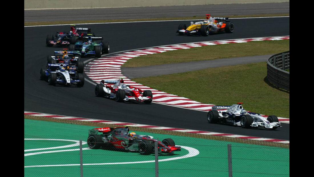 Lewis Hamilton GP Brasilien 2007