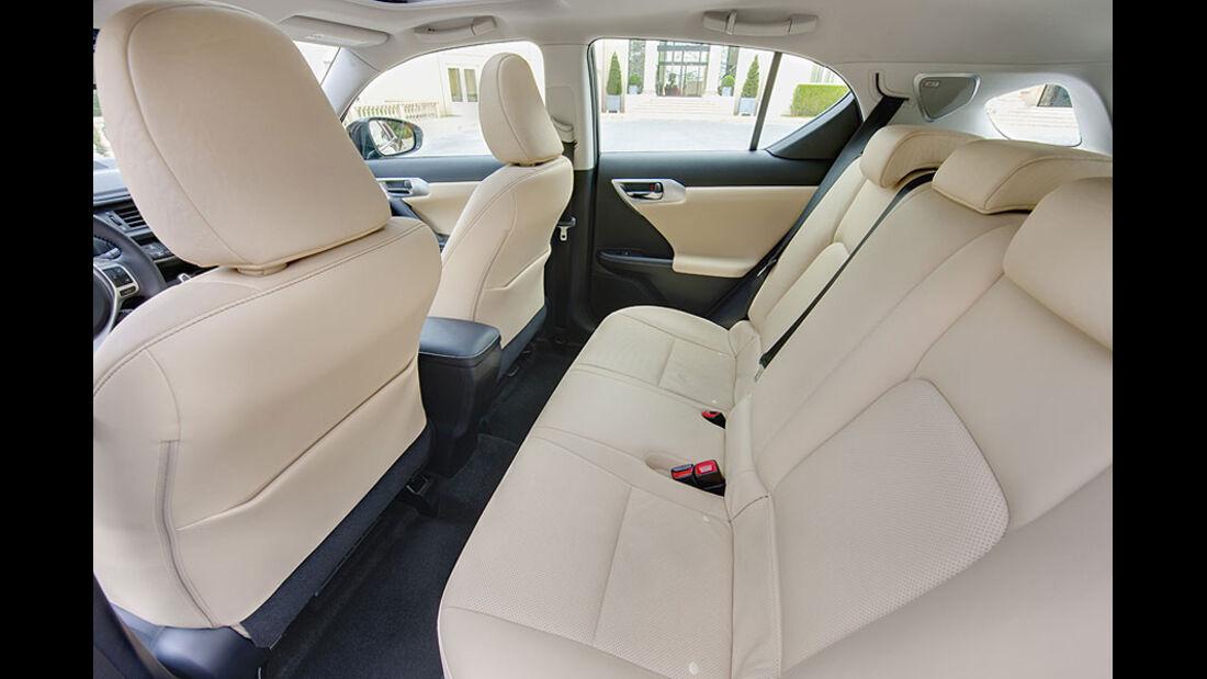 Lexus CT200h Rücksitzbank