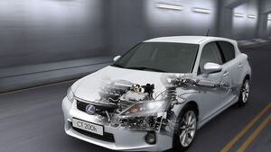 Lexus CT200h Technik
