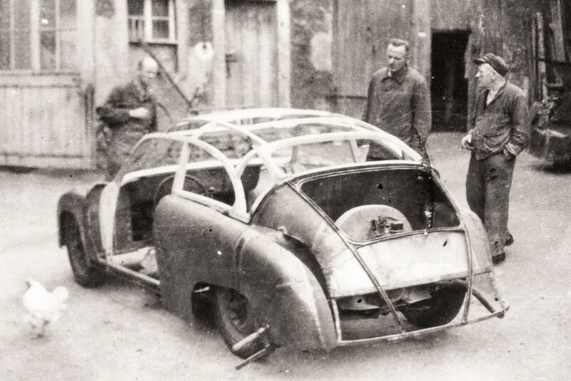 """Lindner-Porsche"" 356 Coupé (1954)"