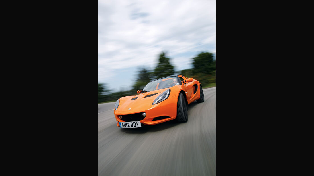 Lotus Elise S, Frontansicht