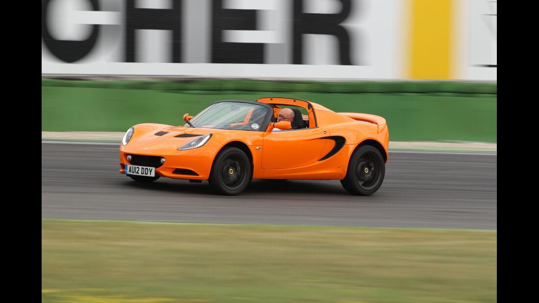 Lotus Elise S, Seitenansicht