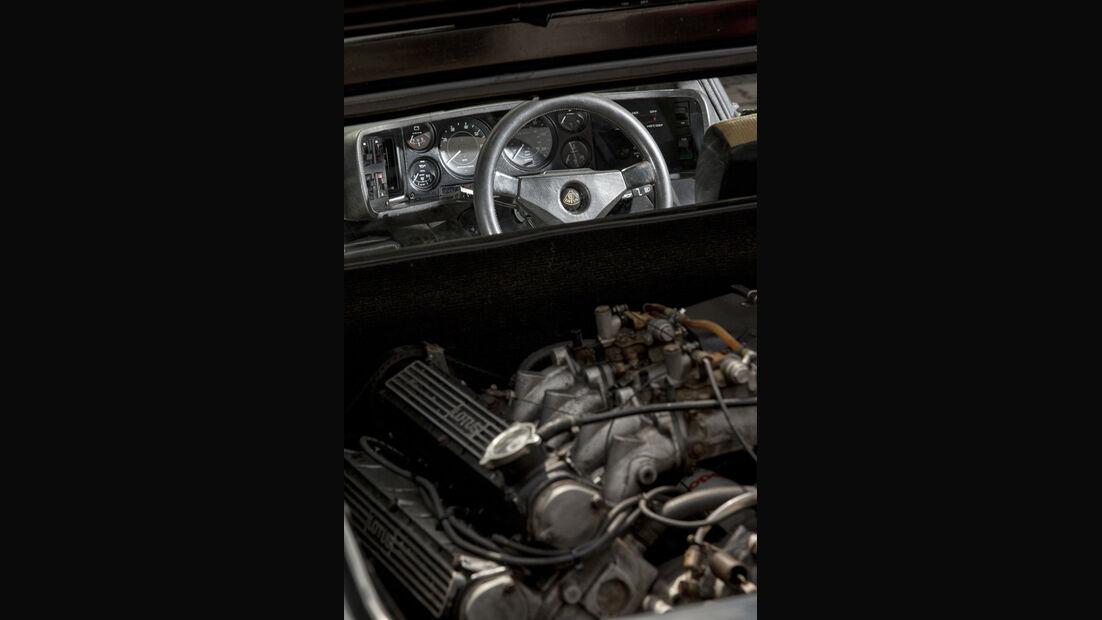 Lotus Esprit, Innenraum, Motor