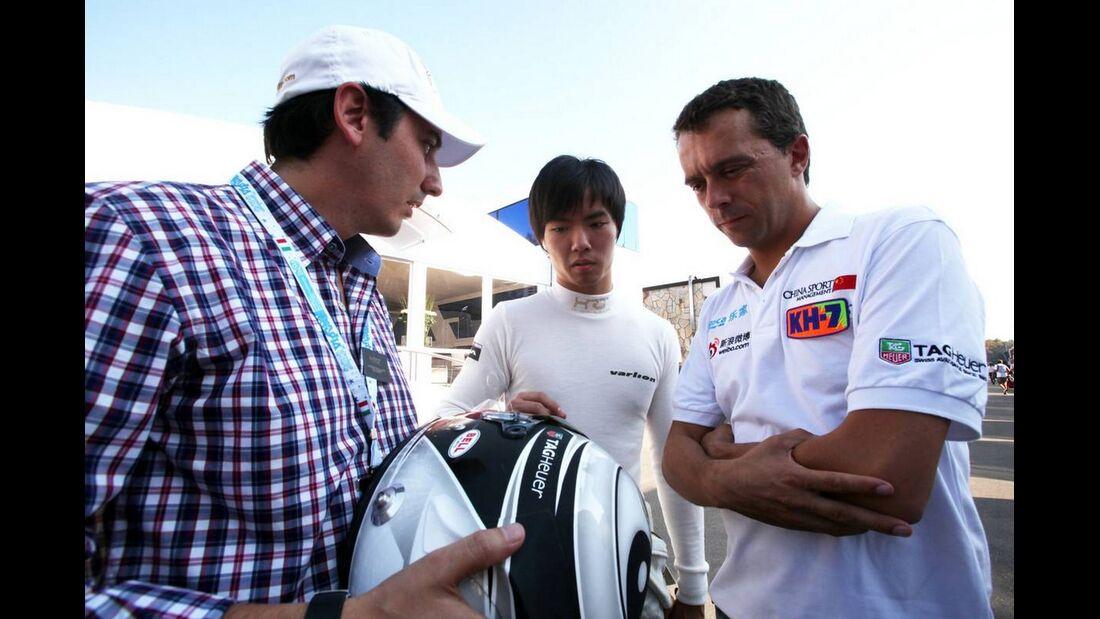 Ma Qing Hua - Formel 1 - GP Italien - 6. September 2012