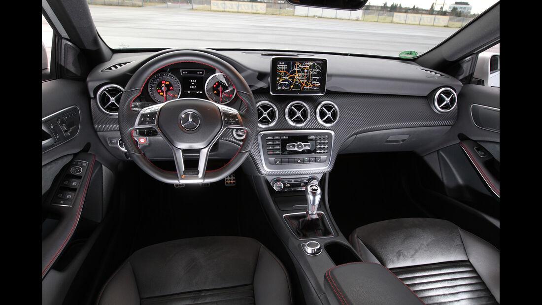 Mercedes A 200 AMG Sport, Cockpit