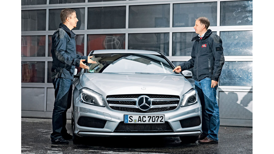 Mercedes A 200 AMG Sport, Jens Dralle, Komfort?