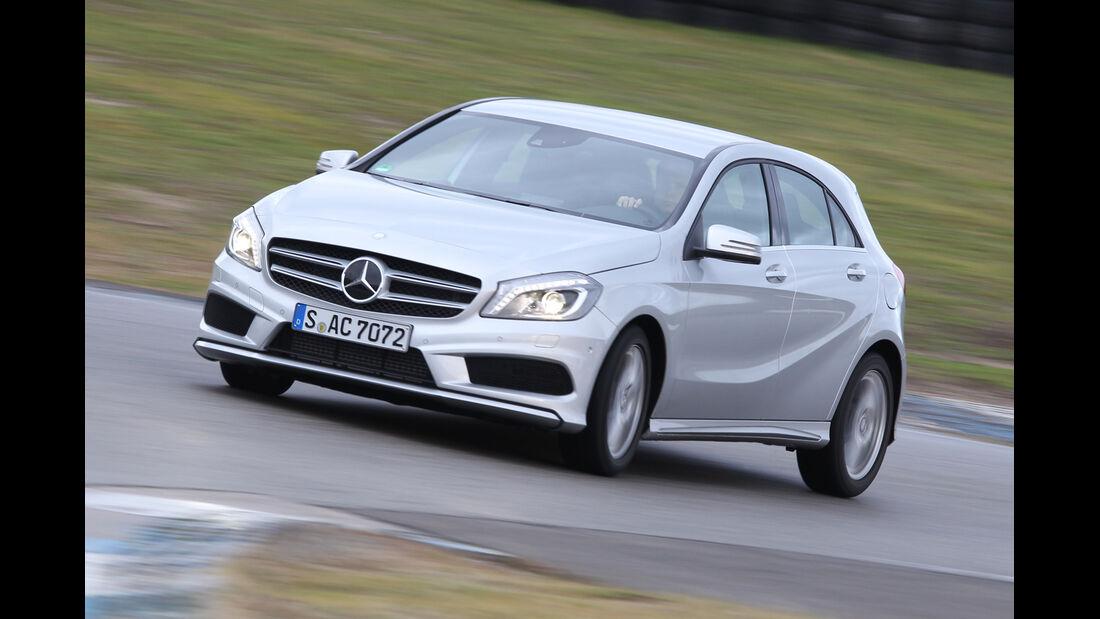 Mercedes A 200 AMG Sport, Seitenansicht
