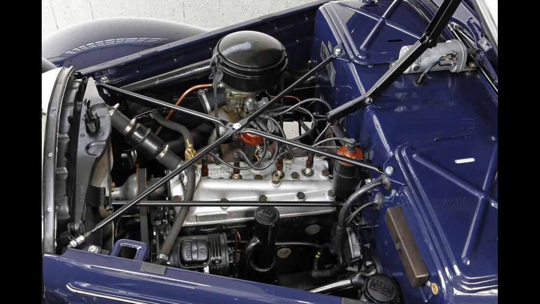 Mercedes Benz 170S, Motor, Motorraum