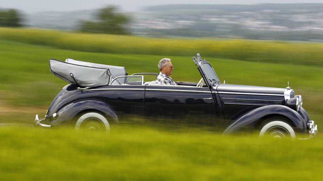 Mercedes Benz 170S, Seitenansicht