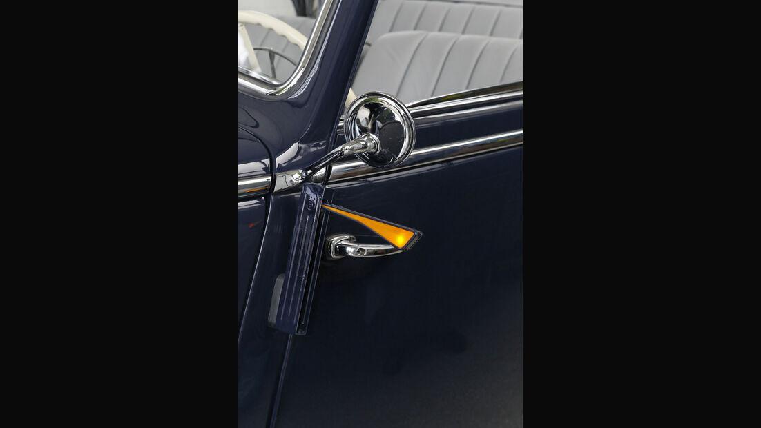Mercedes Benz 170S, Seitenblinker, Detail