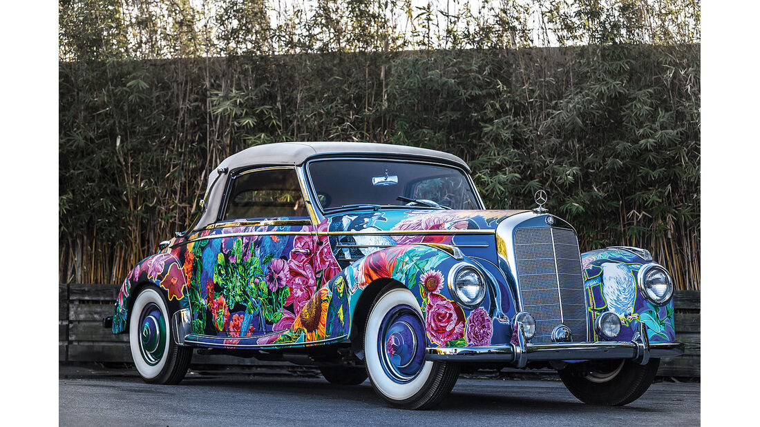 """Mercedes-Benz 220 A Cabriolet """"Earthly Paradise"""""""