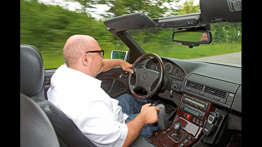 Mercedes-Benz SL 600, Cockpit, Fahrersicht