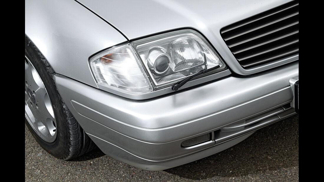 Mercedes-Benz SL 600, Frontscheinwerfer