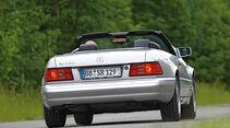 Mercedes-Benz SL 600, Heckansicht
