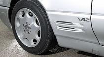 Mercedes-Benz SL 600, Rad, Felge