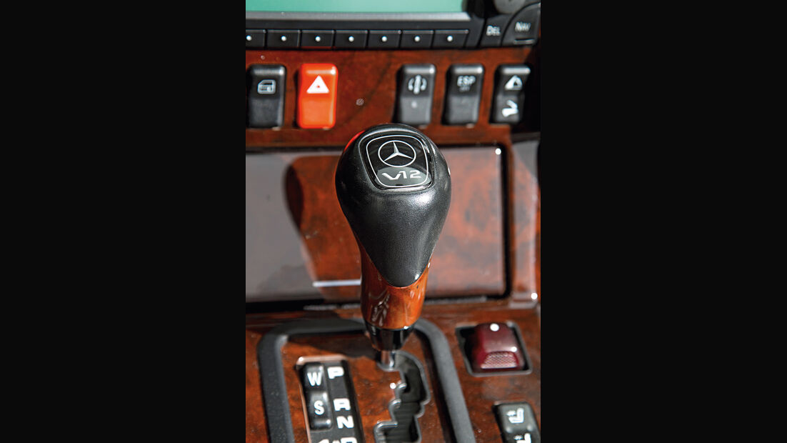 Mercedes-Benz SL 600, Schalthebel