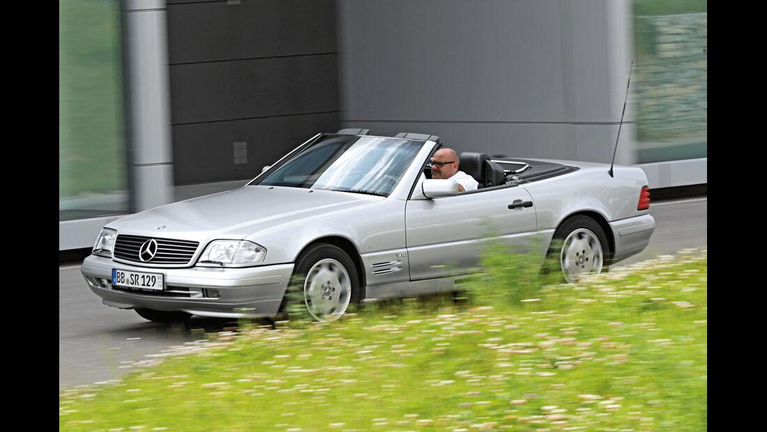 Mercedes-Benz SL 600, Seitenansicht