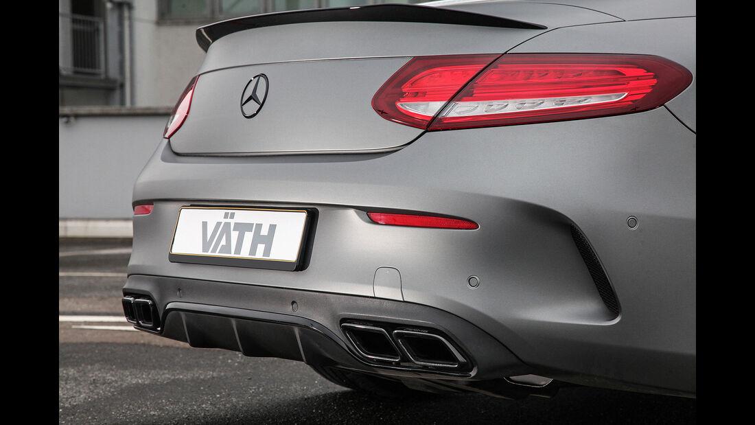 Mercedes C 63 AMG Coupé und Cabriolet von VÄTH