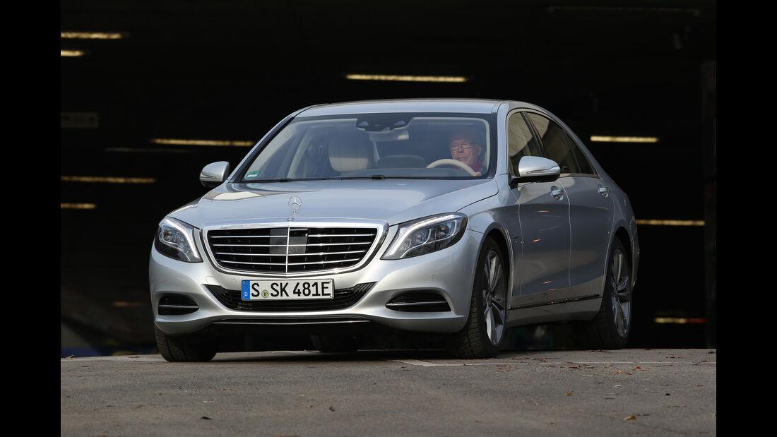 Mercedes S 500 e, Frontansicht