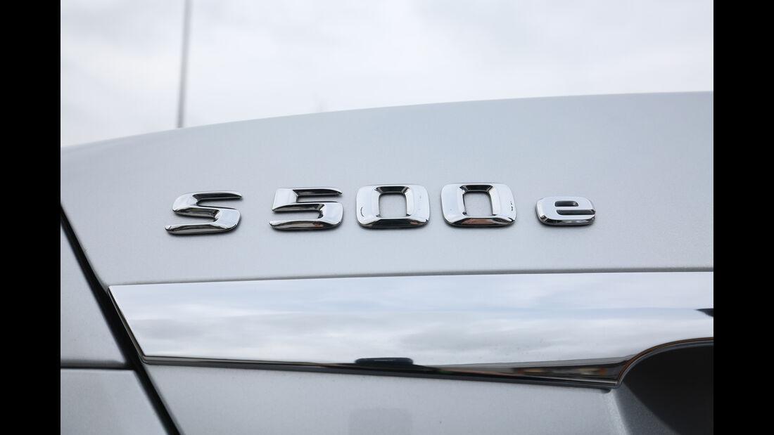 Mercedes S 500 e, Typenbezeichnung
