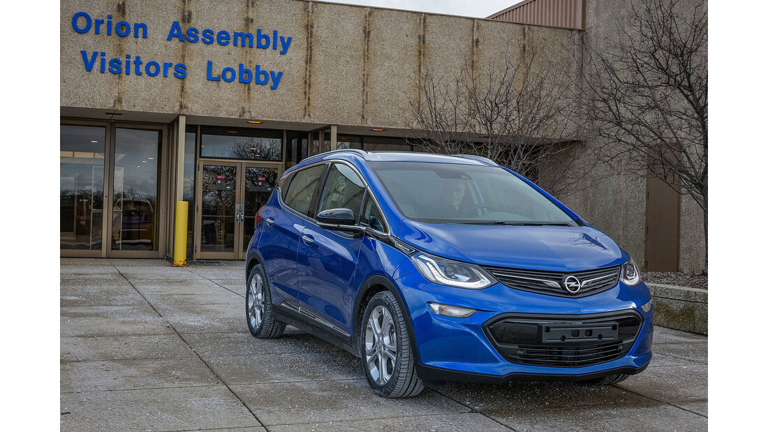 Opel Ampera-e Orion Assembly Plant
