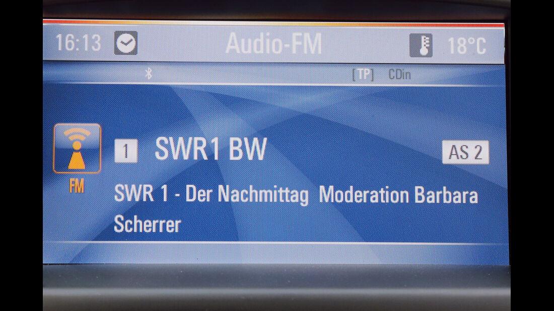 Opel Astra, Audio