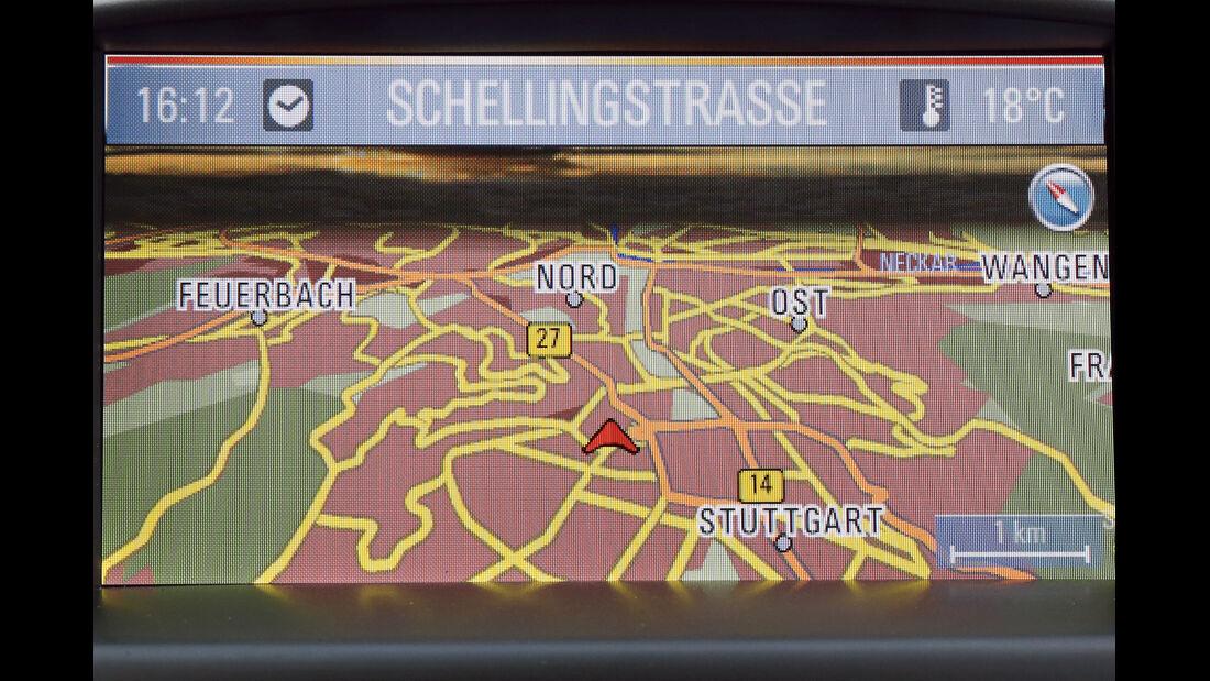 Opel Astra, Navigation