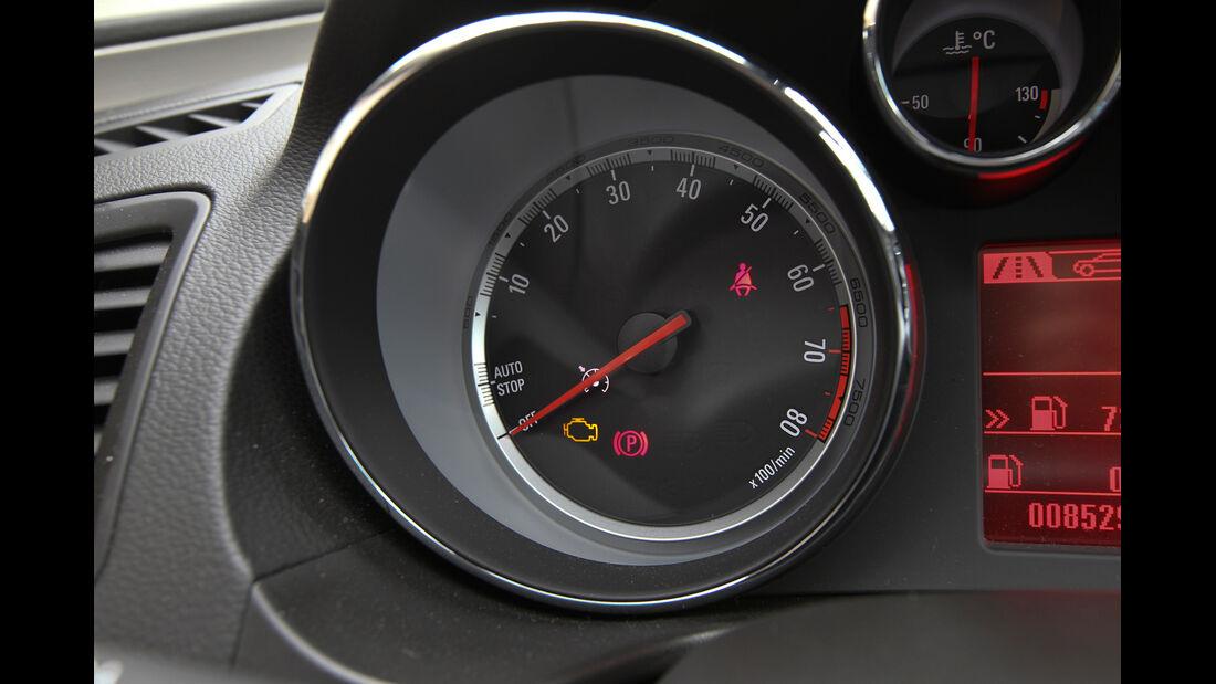 Opel Insignia 1.4 T,  Opel Insignia 2.0 CDTi, Drehzahlmesser