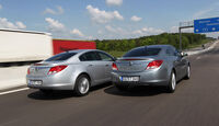 Opel Insignia 1.4 T,  Opel Insignia 2.0 CDTi, Heck