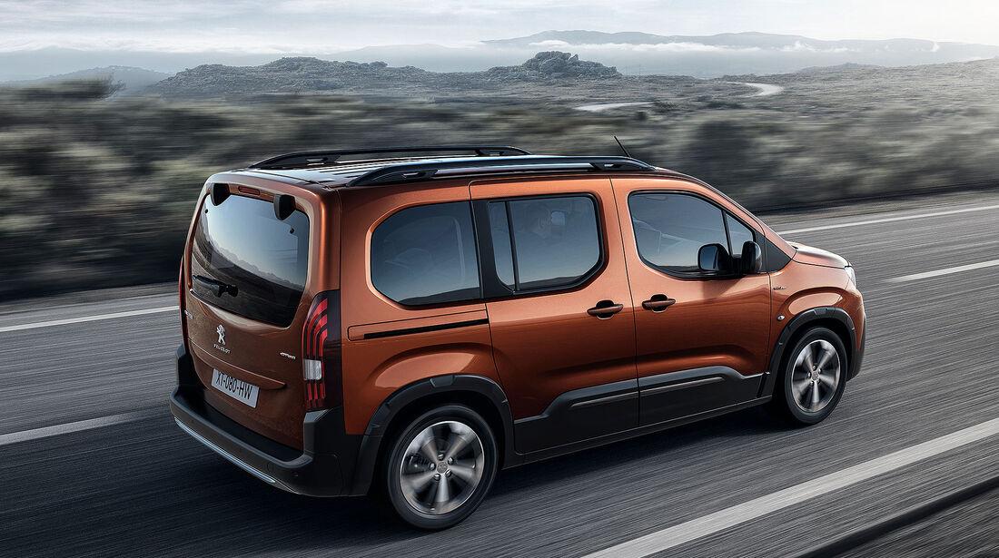 Peugeot Rifter 2018 Heck